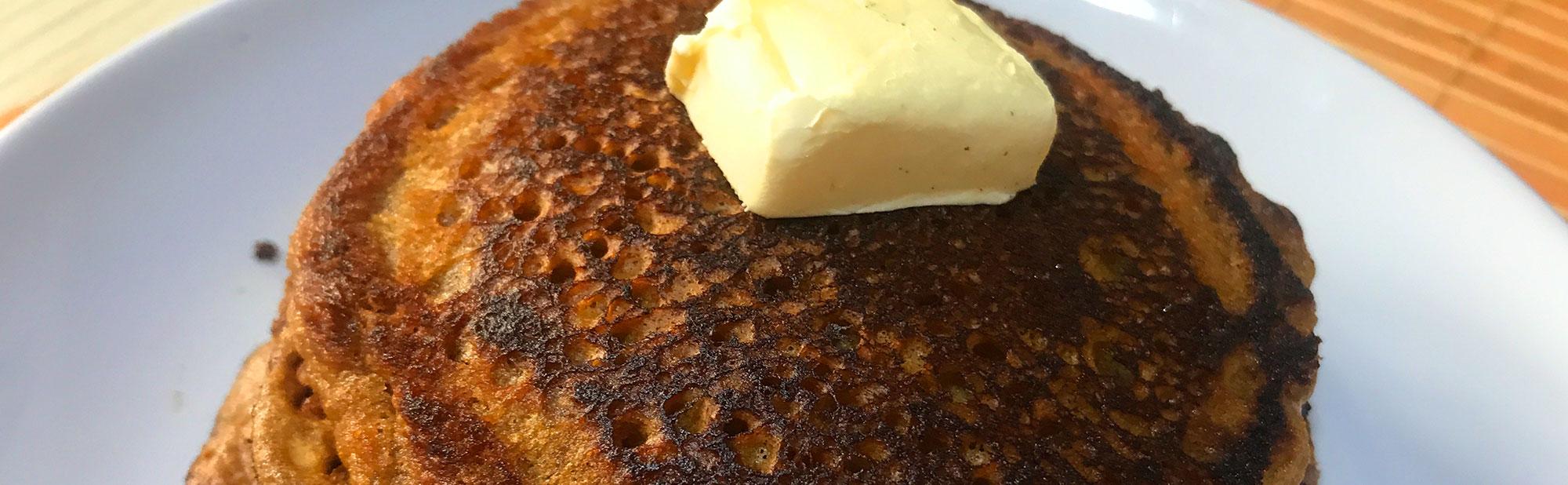 La Antojadera | Hot Cake de Café