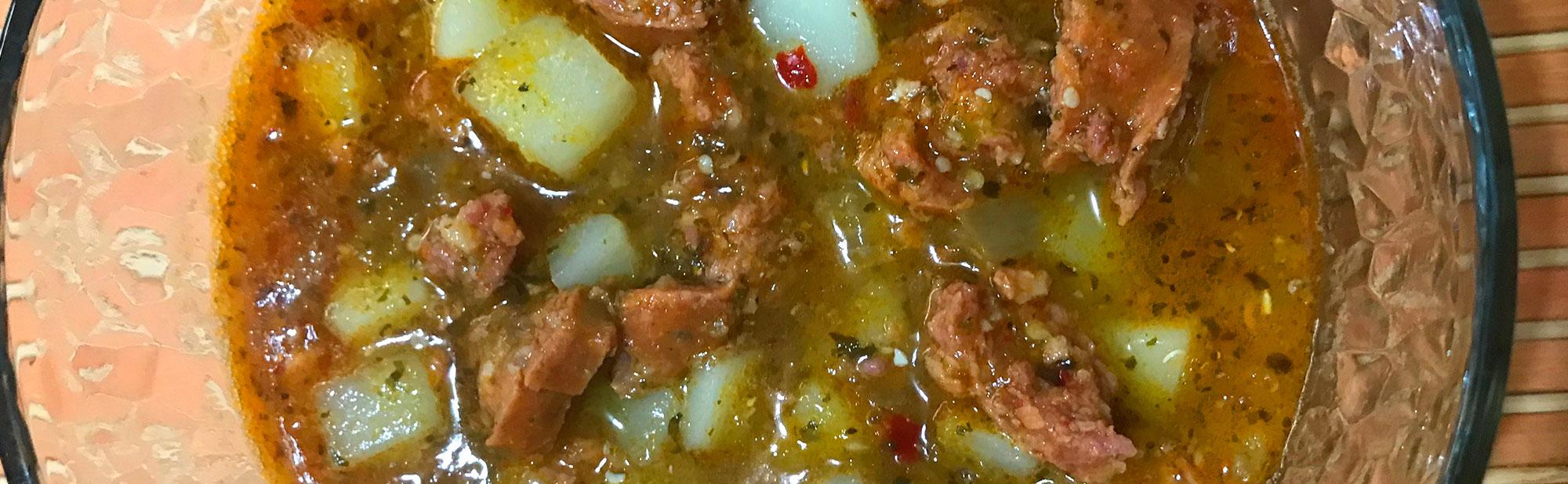La Antojadera | Longaniza en Salsa Verde