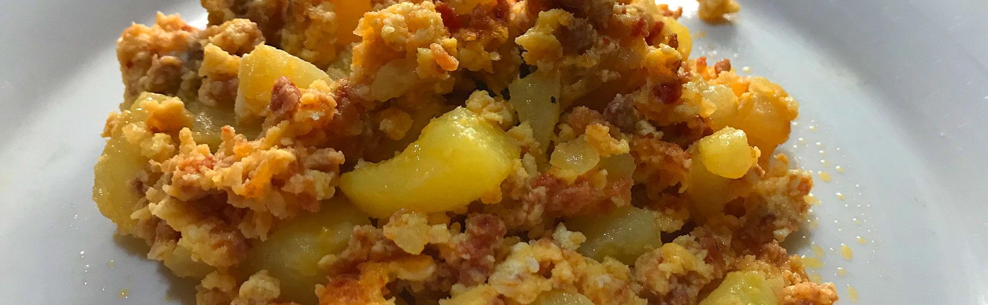 La Antojadera | Huevo con Chorizo y Papas