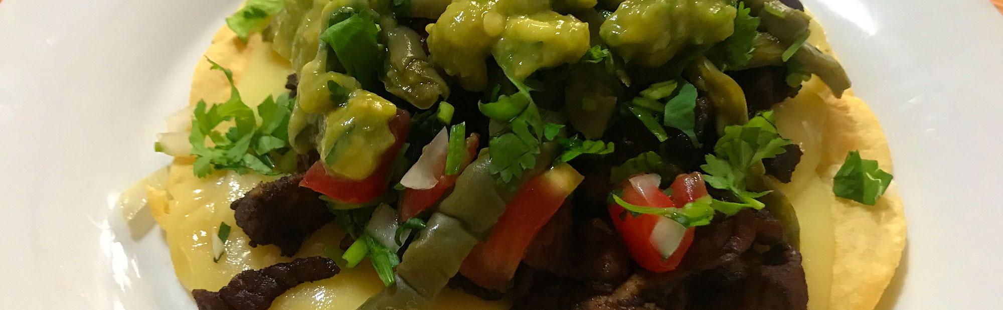 La Antojadera | Beef Steak Volcano with Flour Tortilla