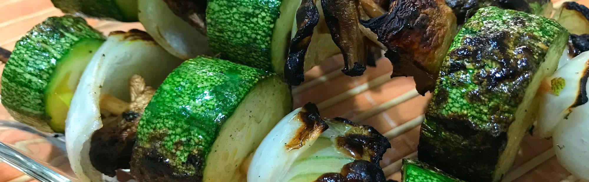 La Antojadera | Brocheta de Vegetales Asados