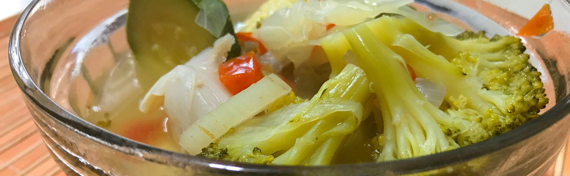 La Antojadera   Sopa de Verduras