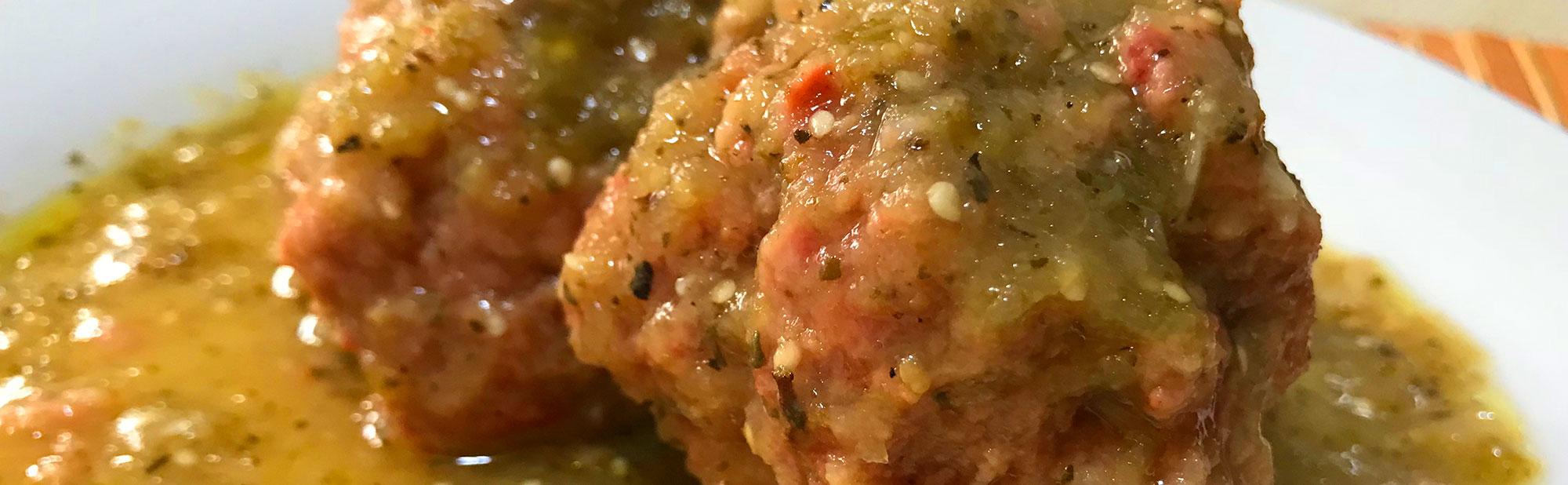 La Antojadera | Albondigas Entomatadas con Habanero