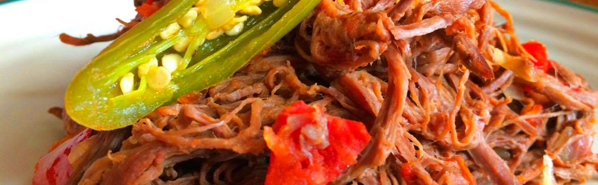 La Antojadera | Carne de Res Desherbada a la Mexicana
