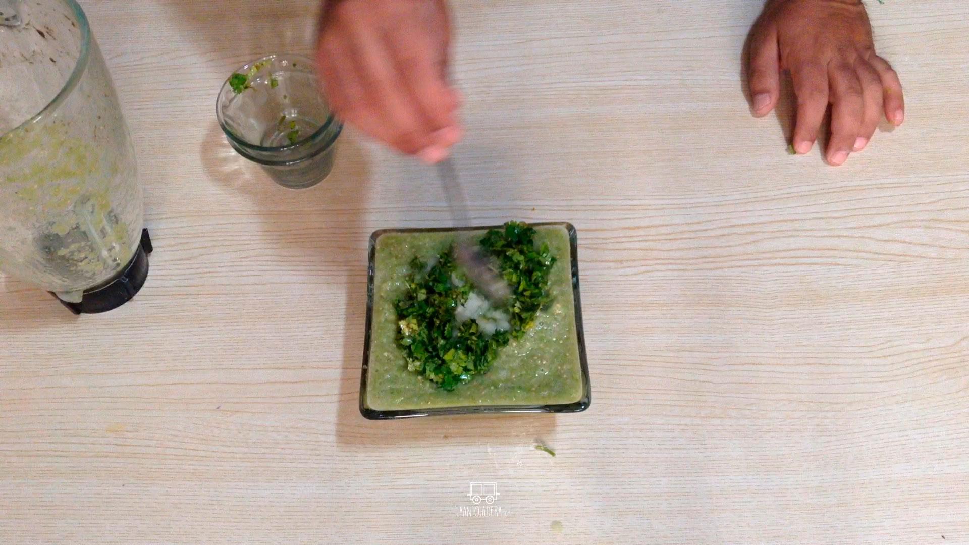 La Antojadera | Salsa Verde Cruda