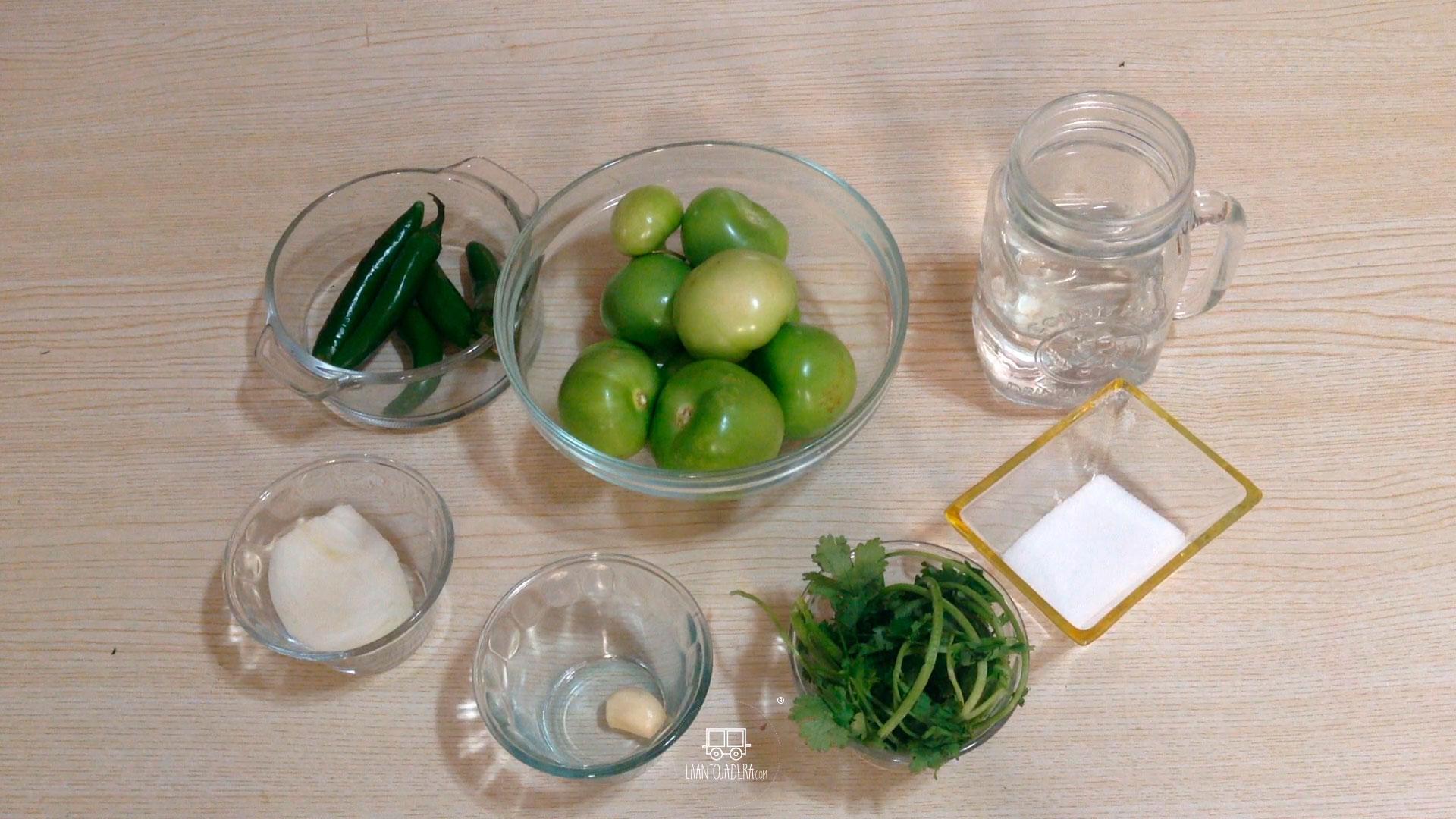 La Antojadera   Salsa Verde