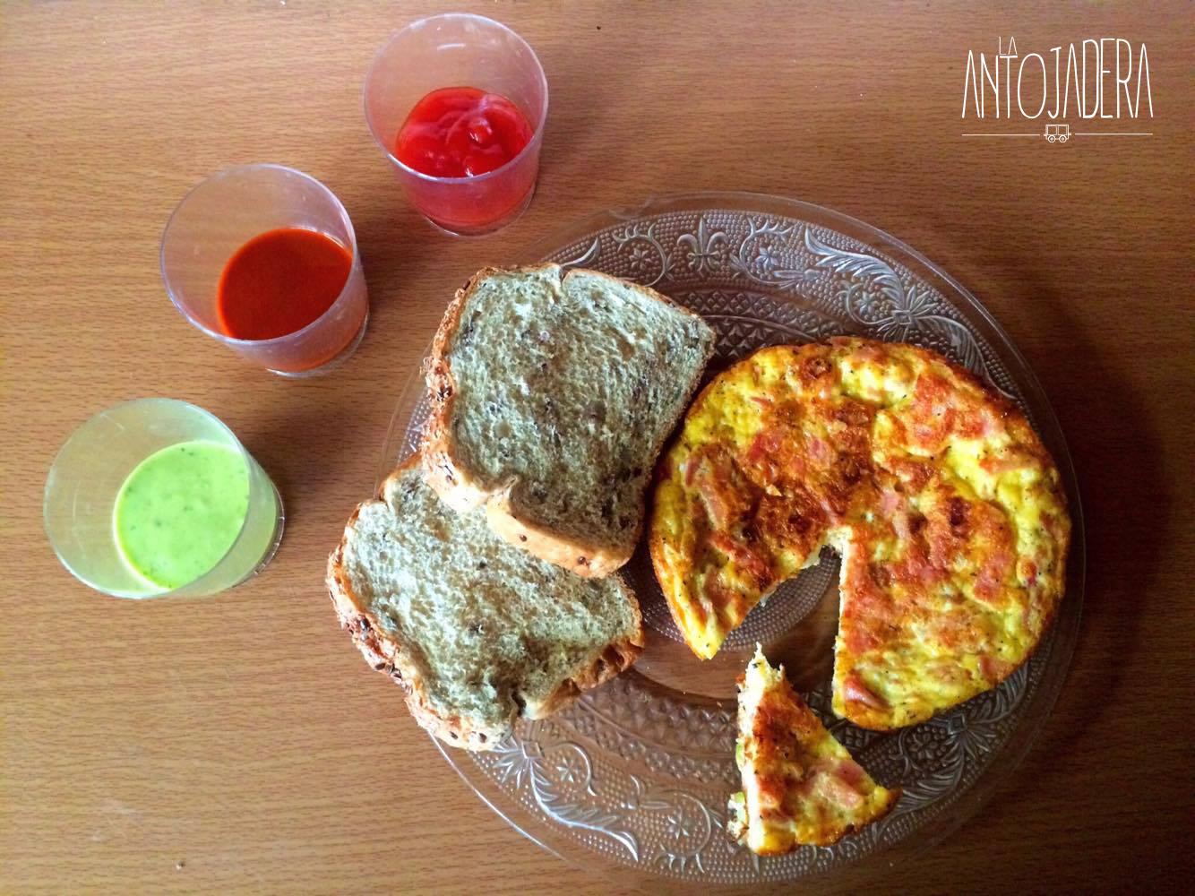 La Antojadera | Huevo u Omelette con Jamón