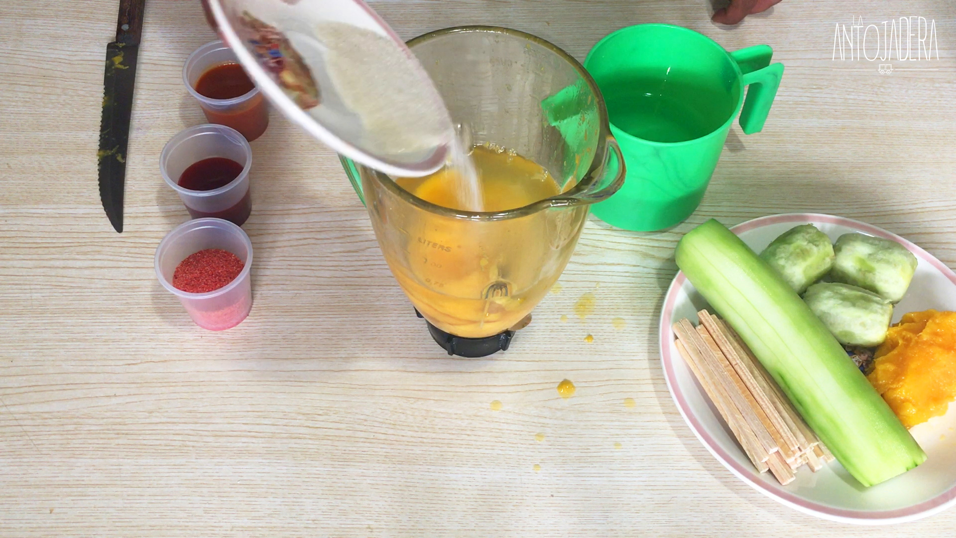 La Antojadera | Chamoyada de Mango