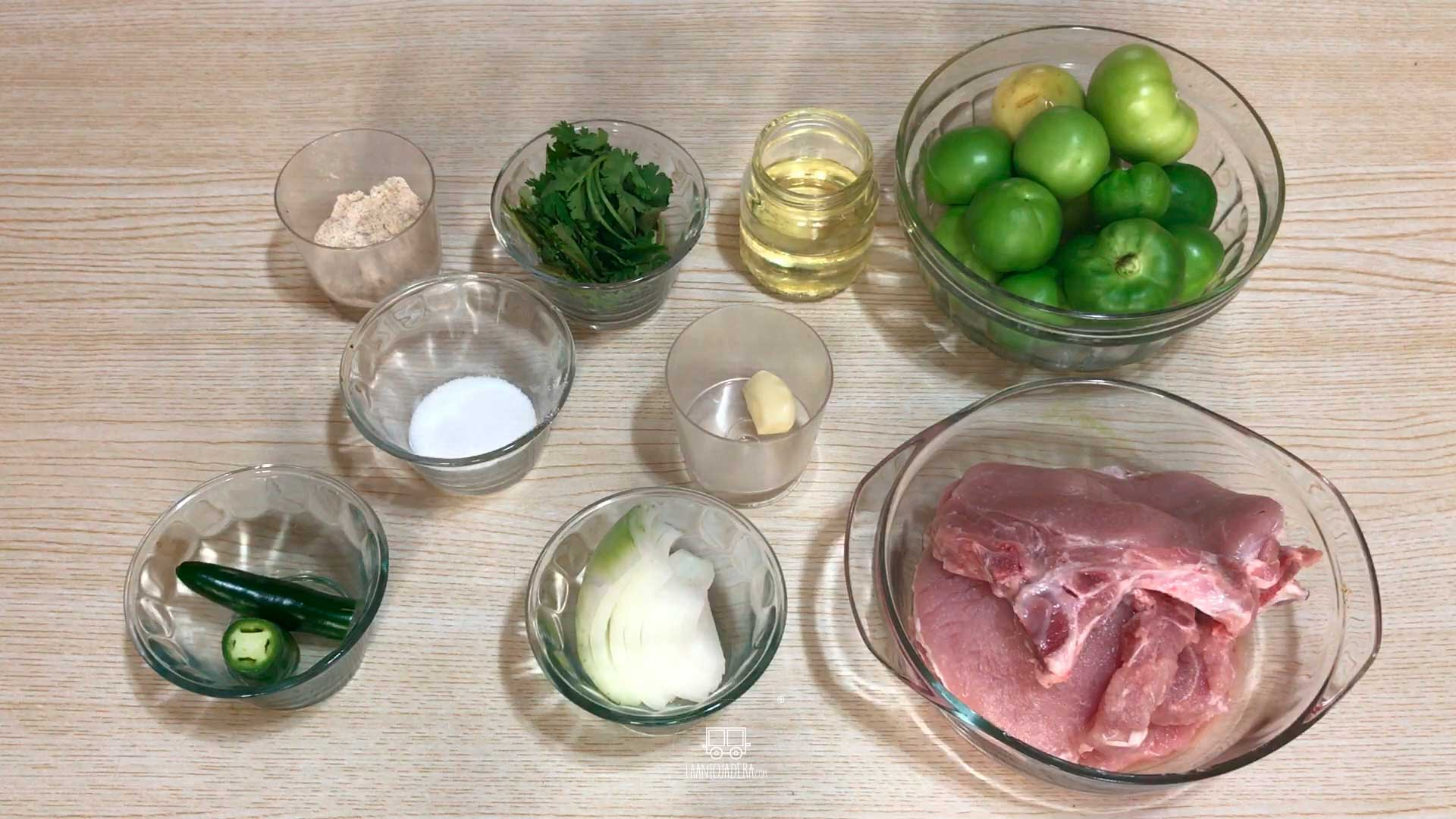 La Antojadera | Chuleta de Cerdo en Salsa Verde
