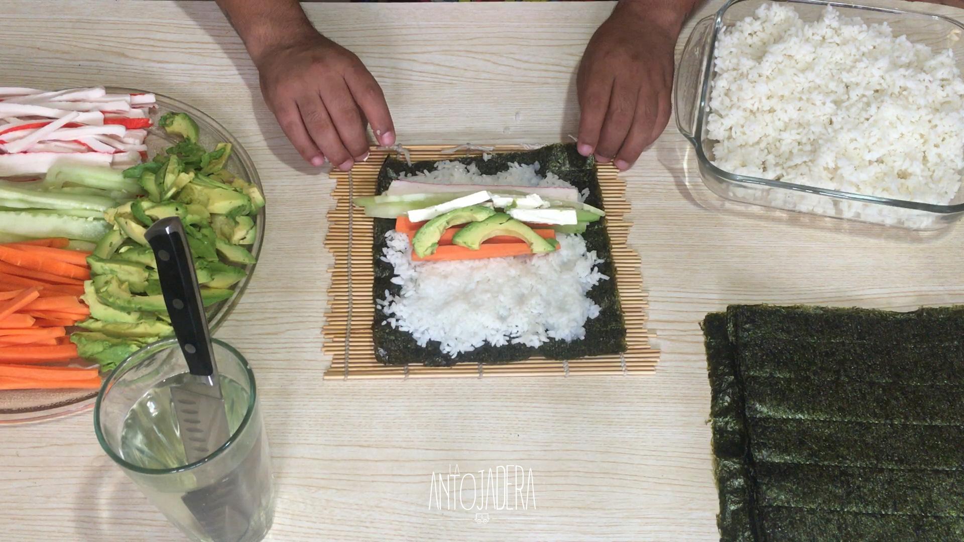 La Antojadera | Rollos de Sushi California