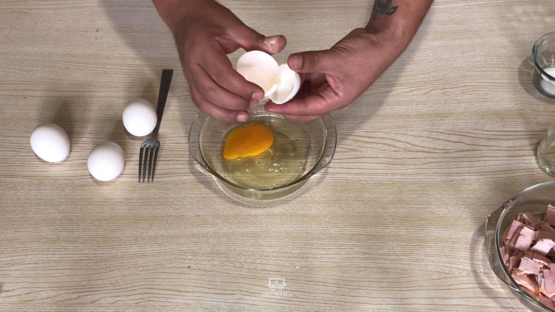 La Antojadera | Huevo Revuelto con Tocino