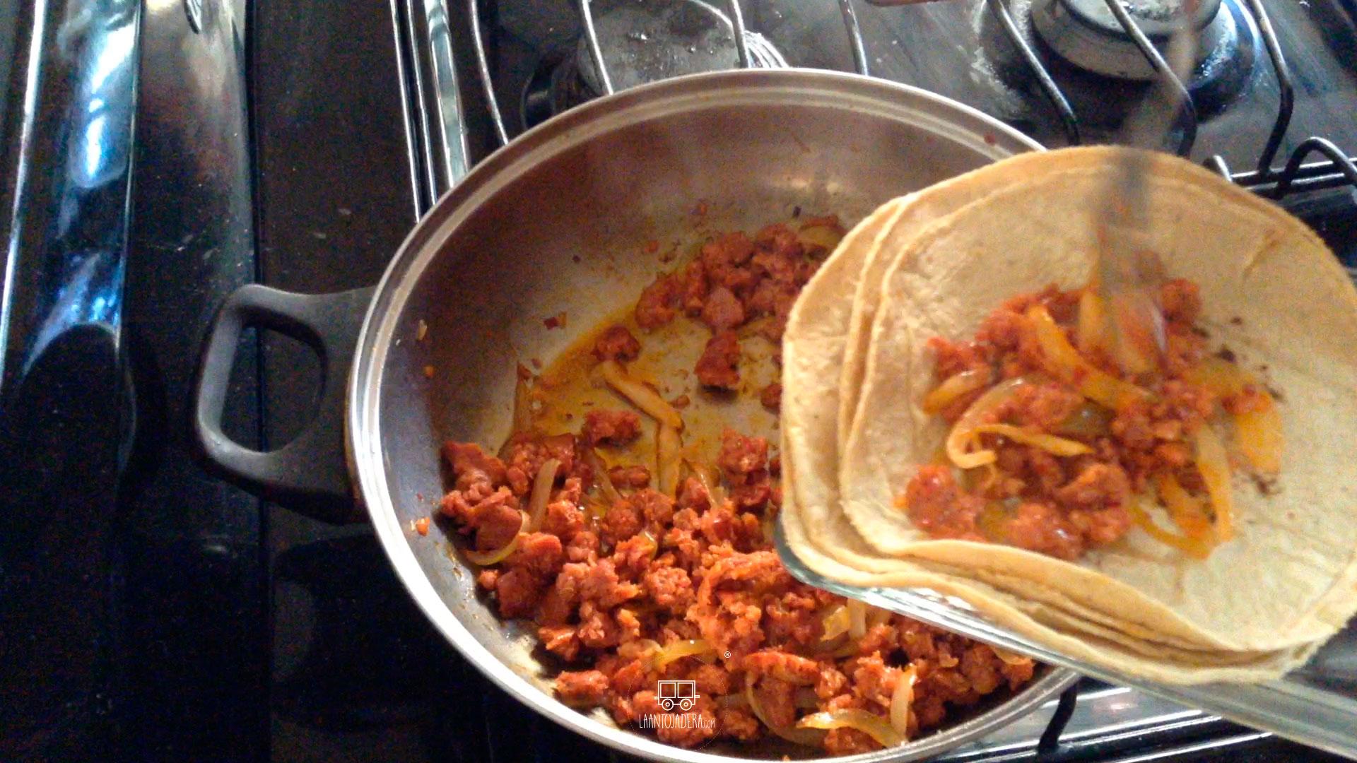 La Antojadera | Tacos de Longaniza