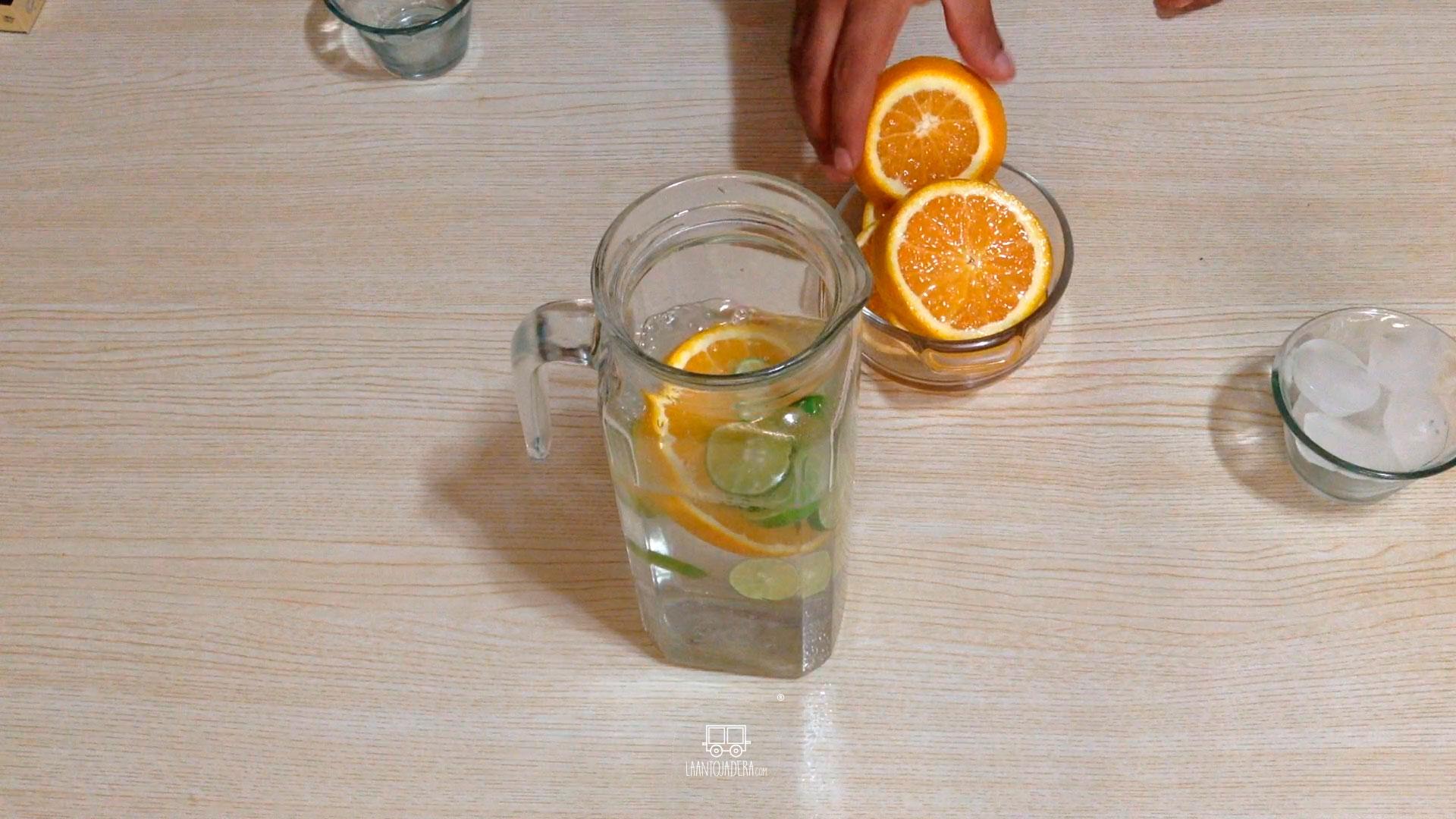 La Antojadera | Agua Cítrica
