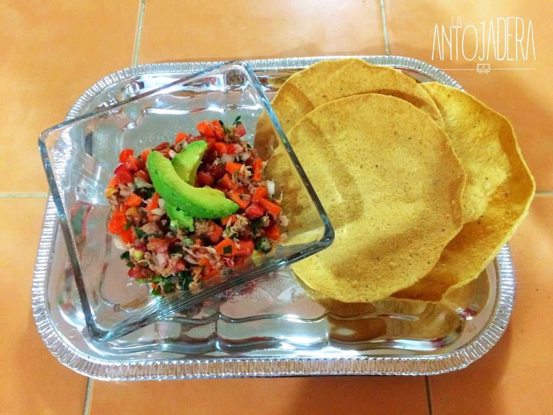 La Antojadera | Ceviche de Atún