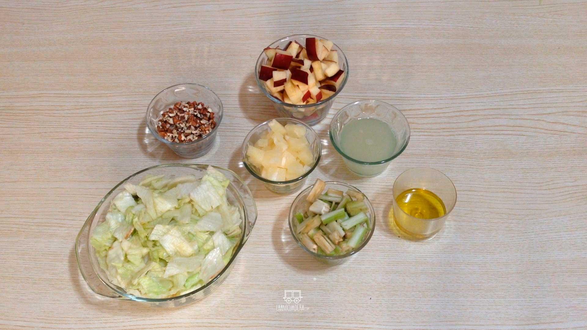 La Antojadera | Ensalada de Manzana y Apio