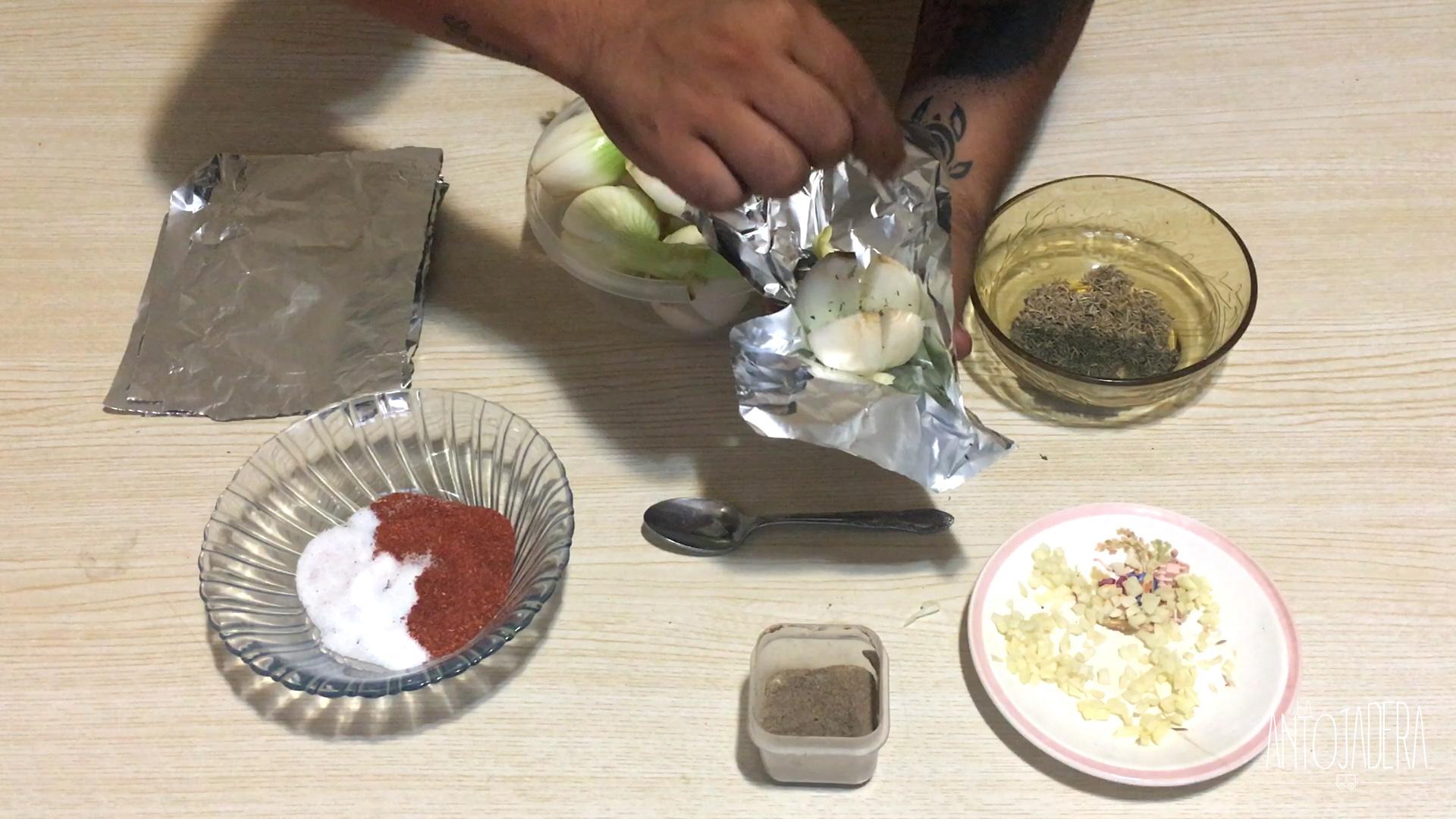 La Antojadera | Cebollas con Especias a las Brasas