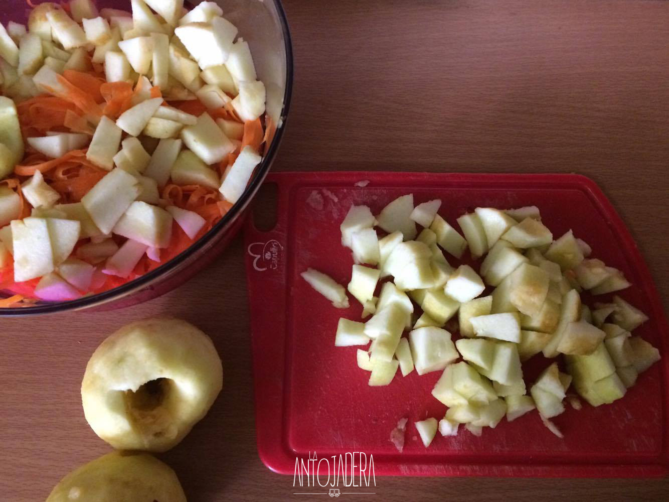 La Antojadera | Ensalada de Manzana y Zanahoria