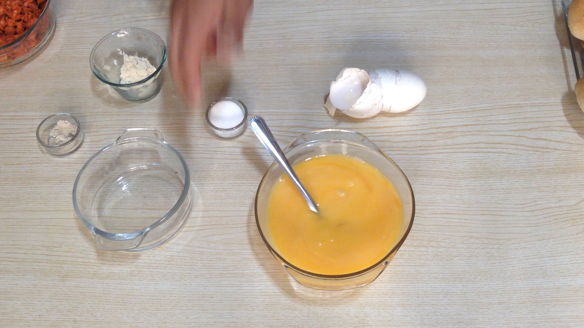 La Antojadera | Tortitas de Huevo con Chorizo