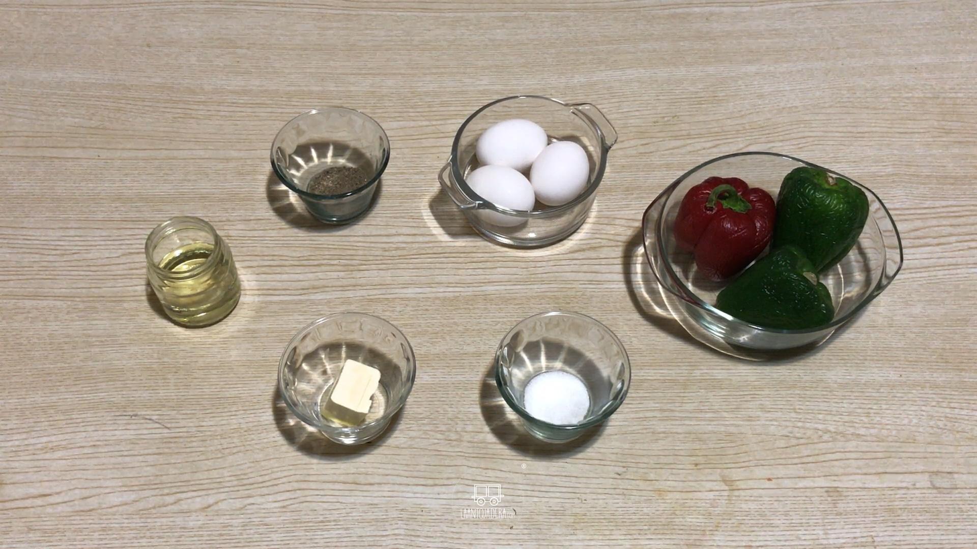 La Antojadera | Huevo en Pimiento