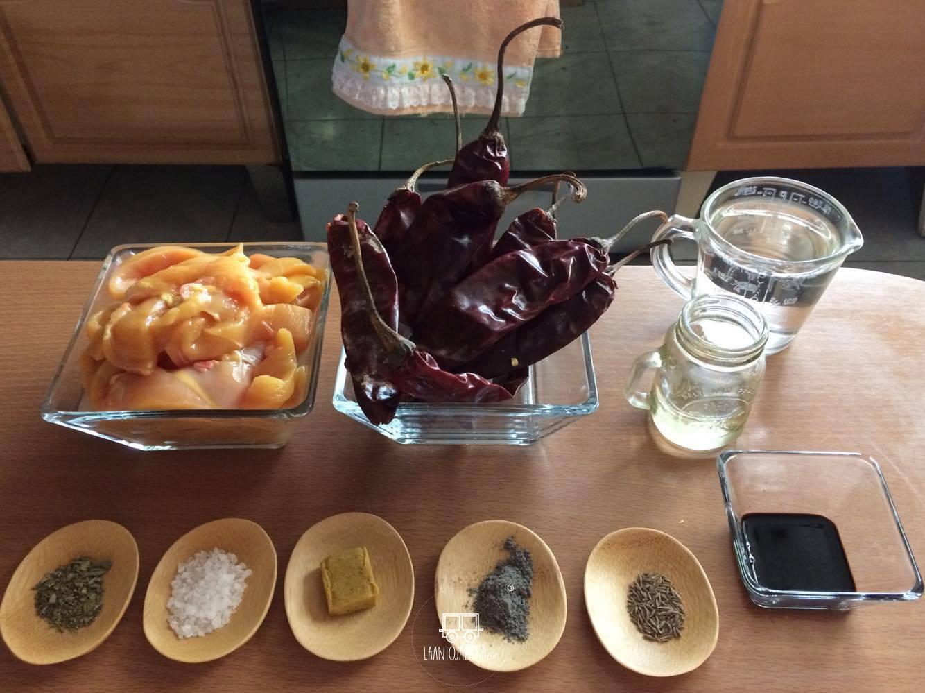 La Antojadera | Fajitas de Pollo Adobadas