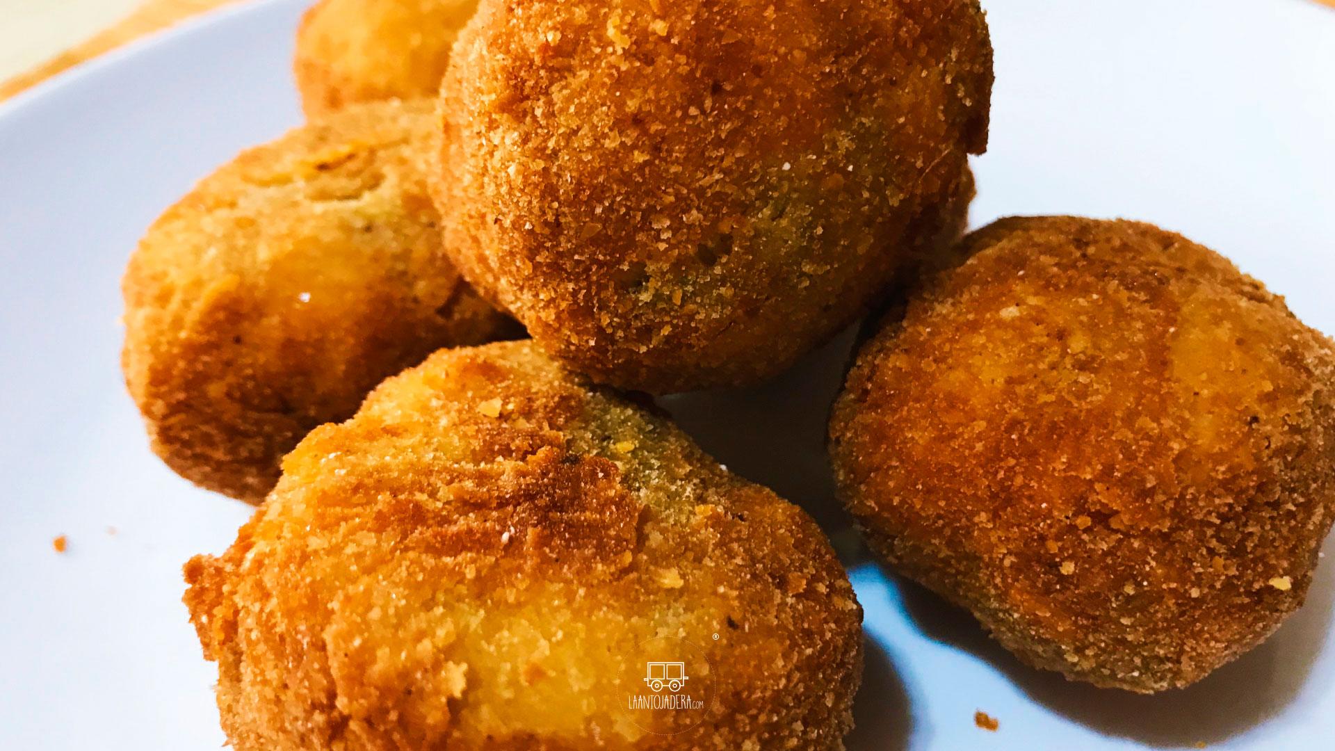 La Antojadera   Nuggets de Pollo con Queso Doble Crema