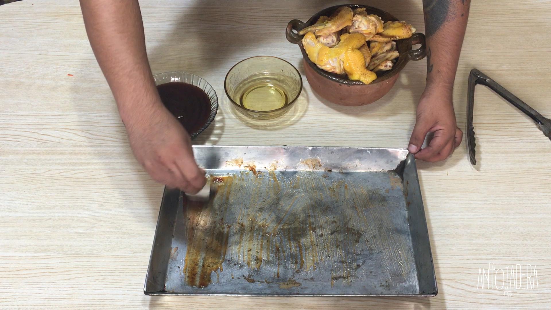 La Antojadera | Alitas a la BBQ