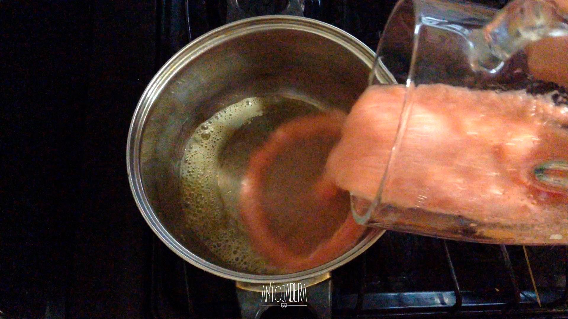 La Antojadera | Espagueti con Jamón y Queso