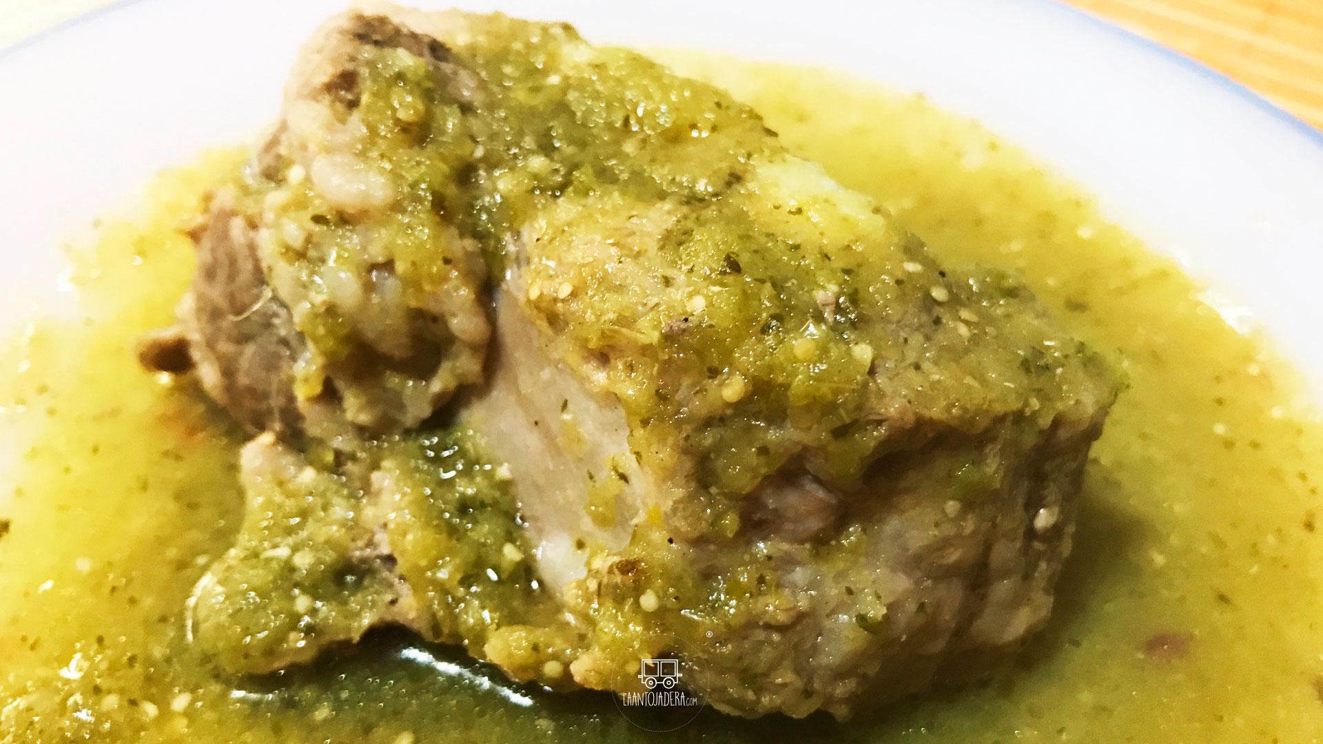 La Antojadera | Costillas de Cerdo en Salsa Verde