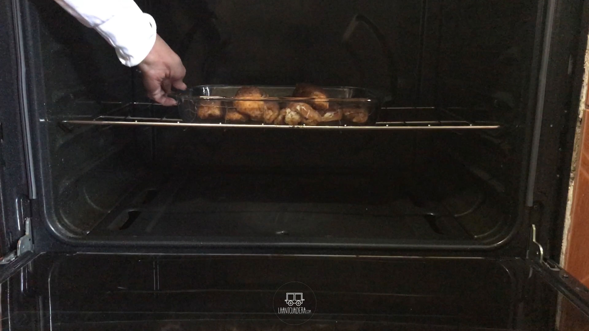 La Antojadera | Rollitos de Pollo con Jamón y Queso