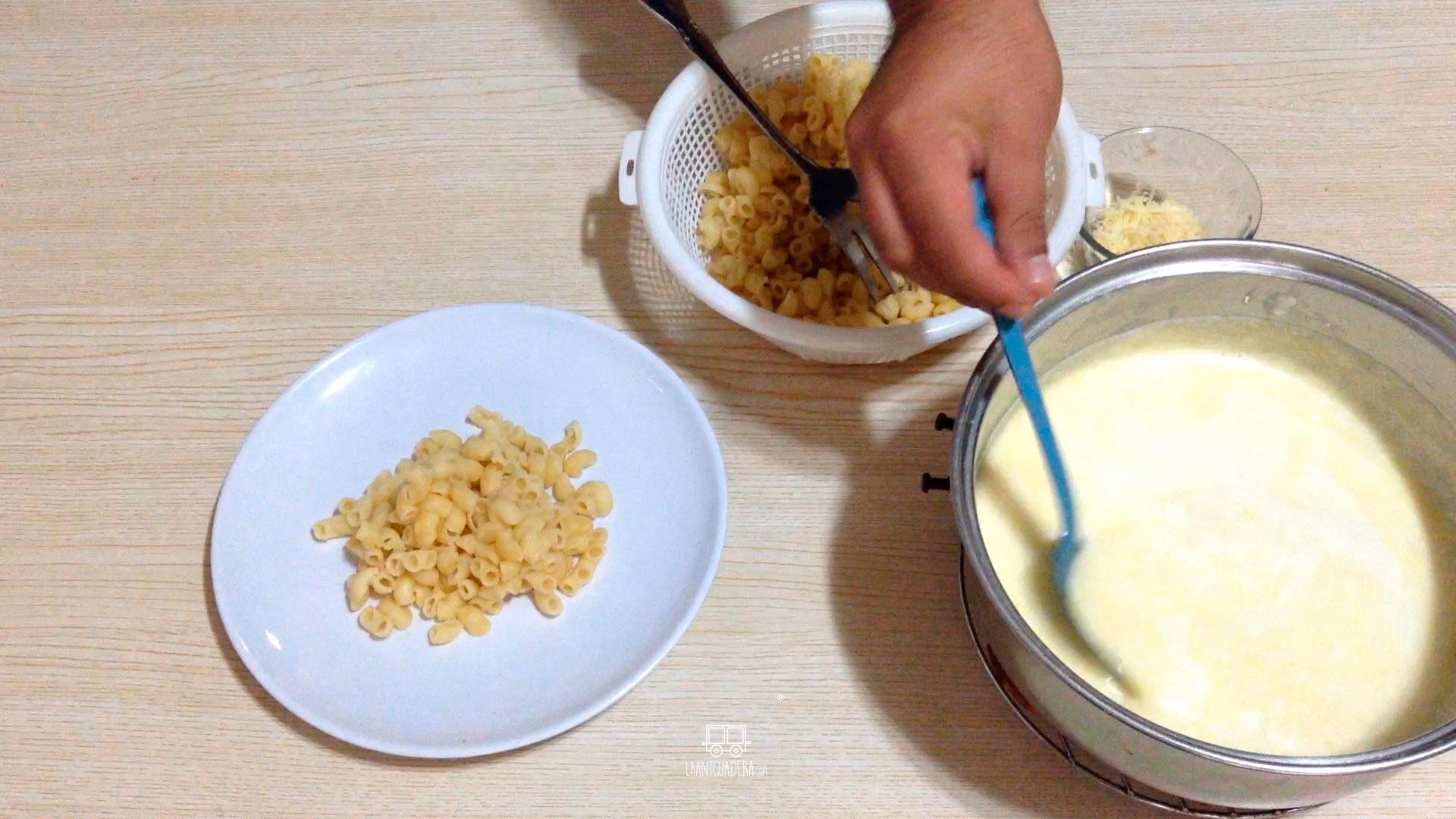 La Antojadera | Pasta a los Dos Quesos