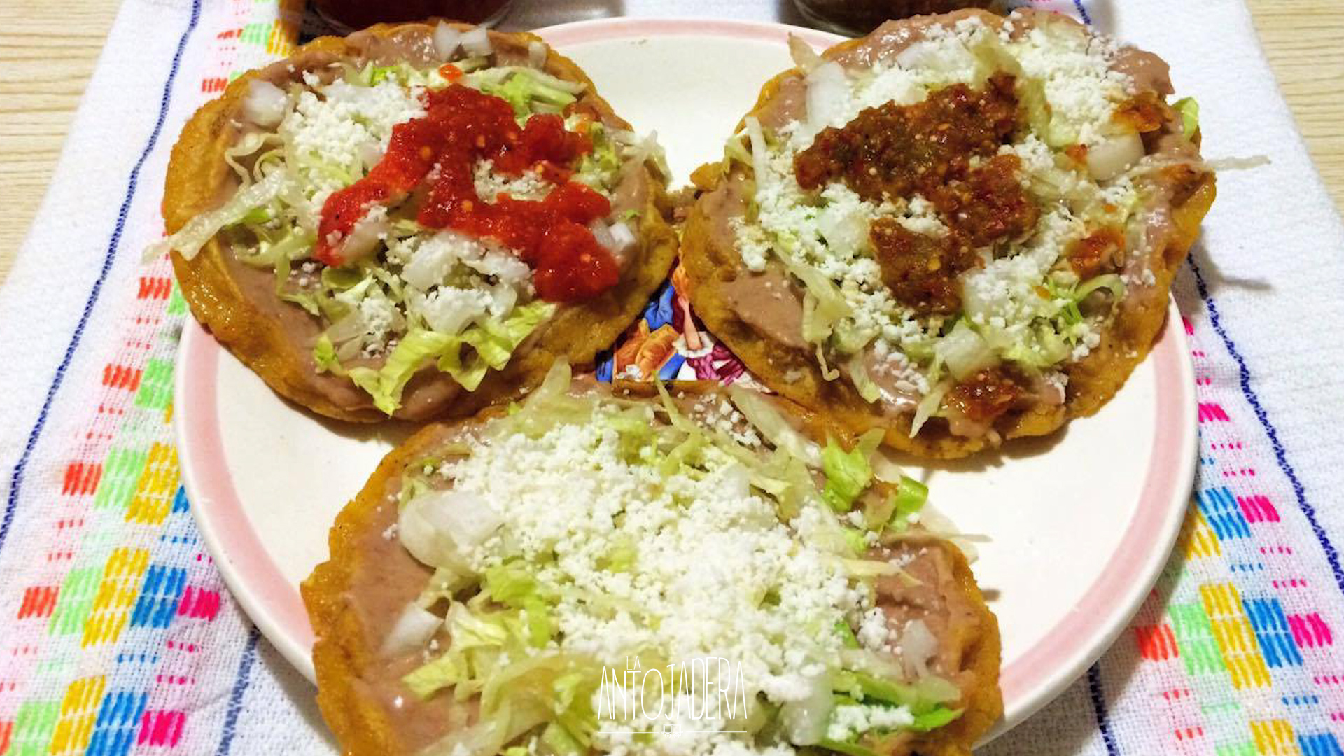 La Antojadera | Sopes