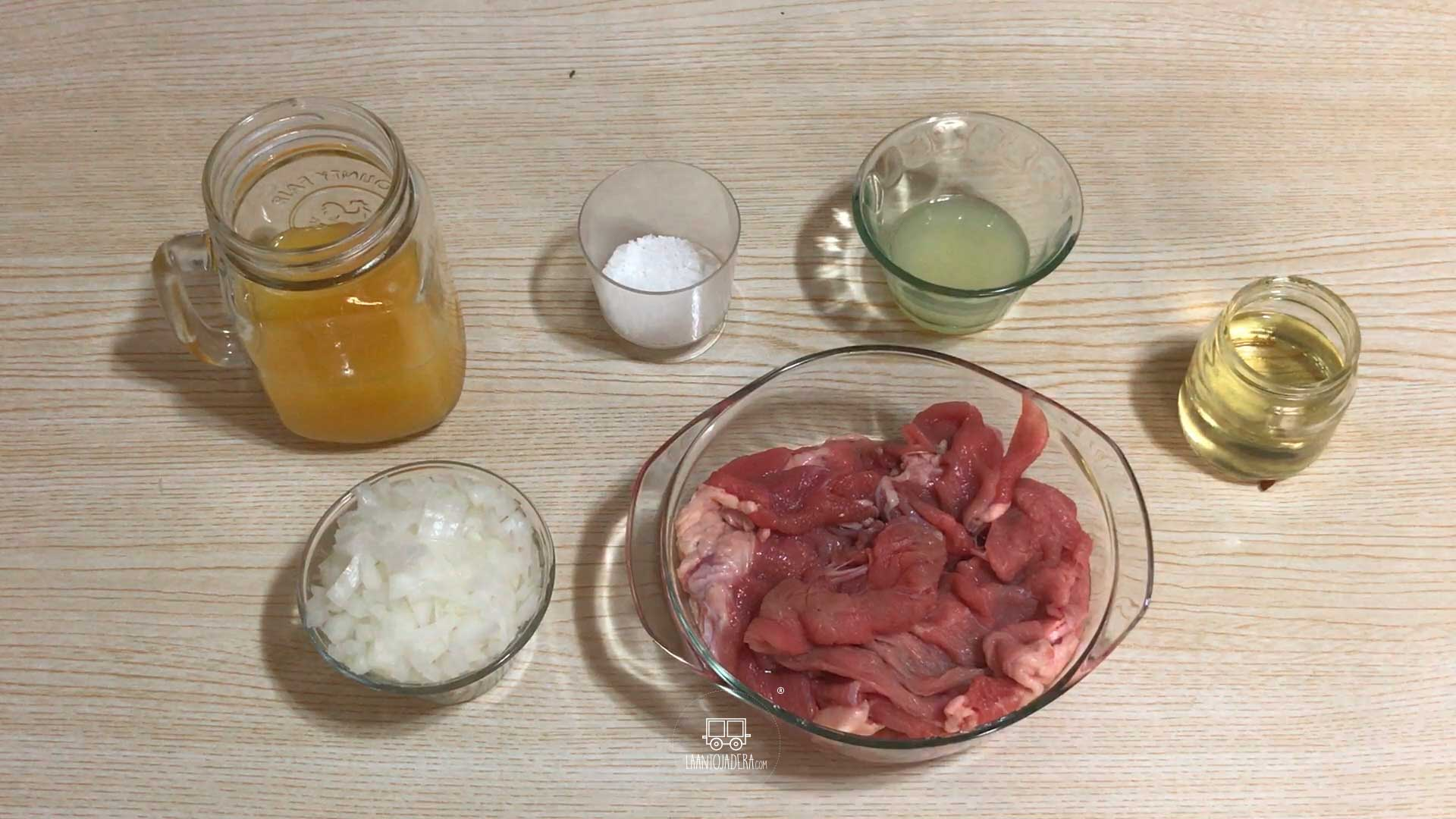 La Antojadera | Bistec de Res a la Naranja