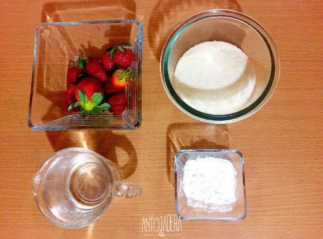 La Antojadera | Relleno de Fresa para Pasteles