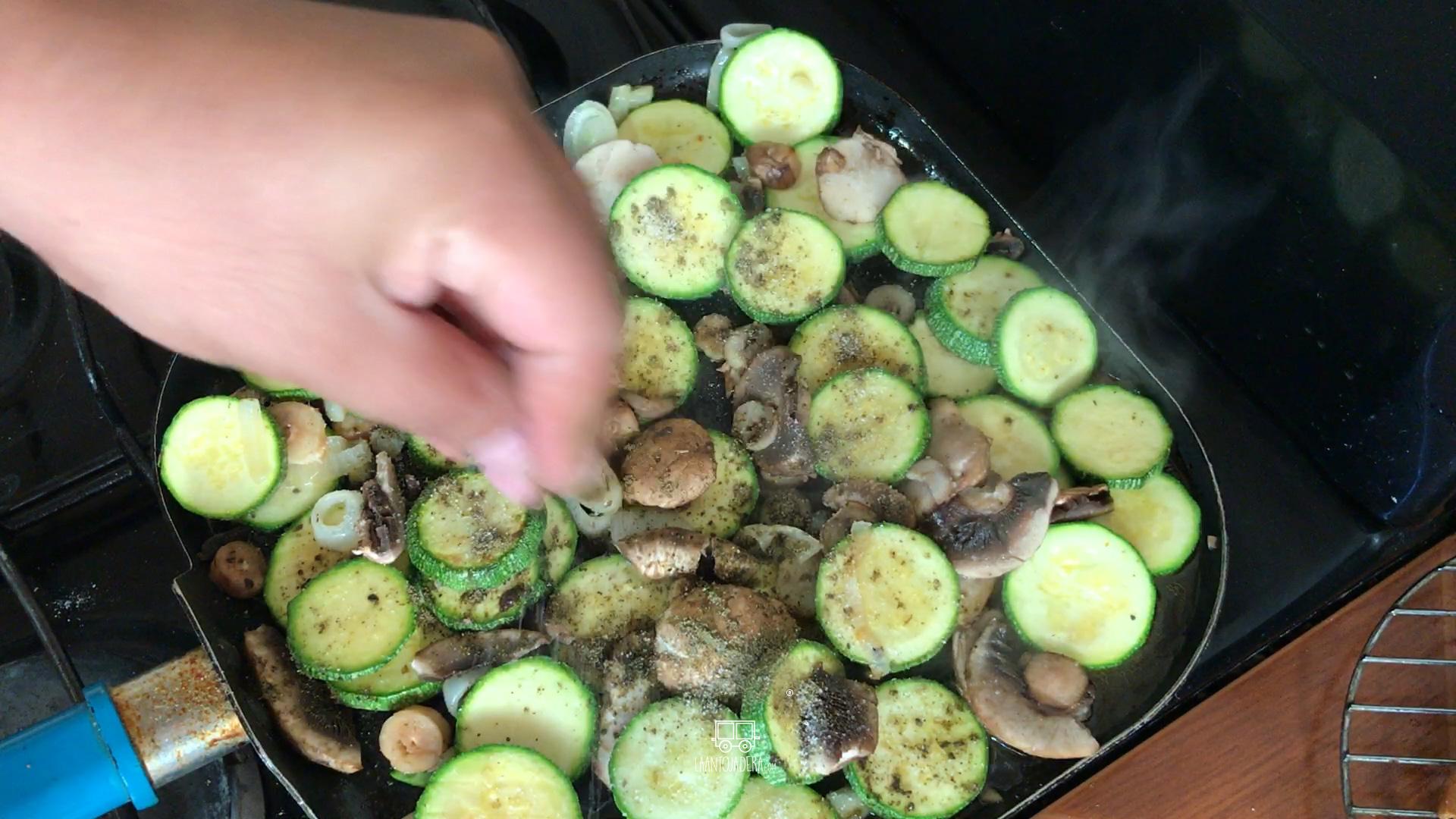 La Antojadera | Verduras a la Plancha