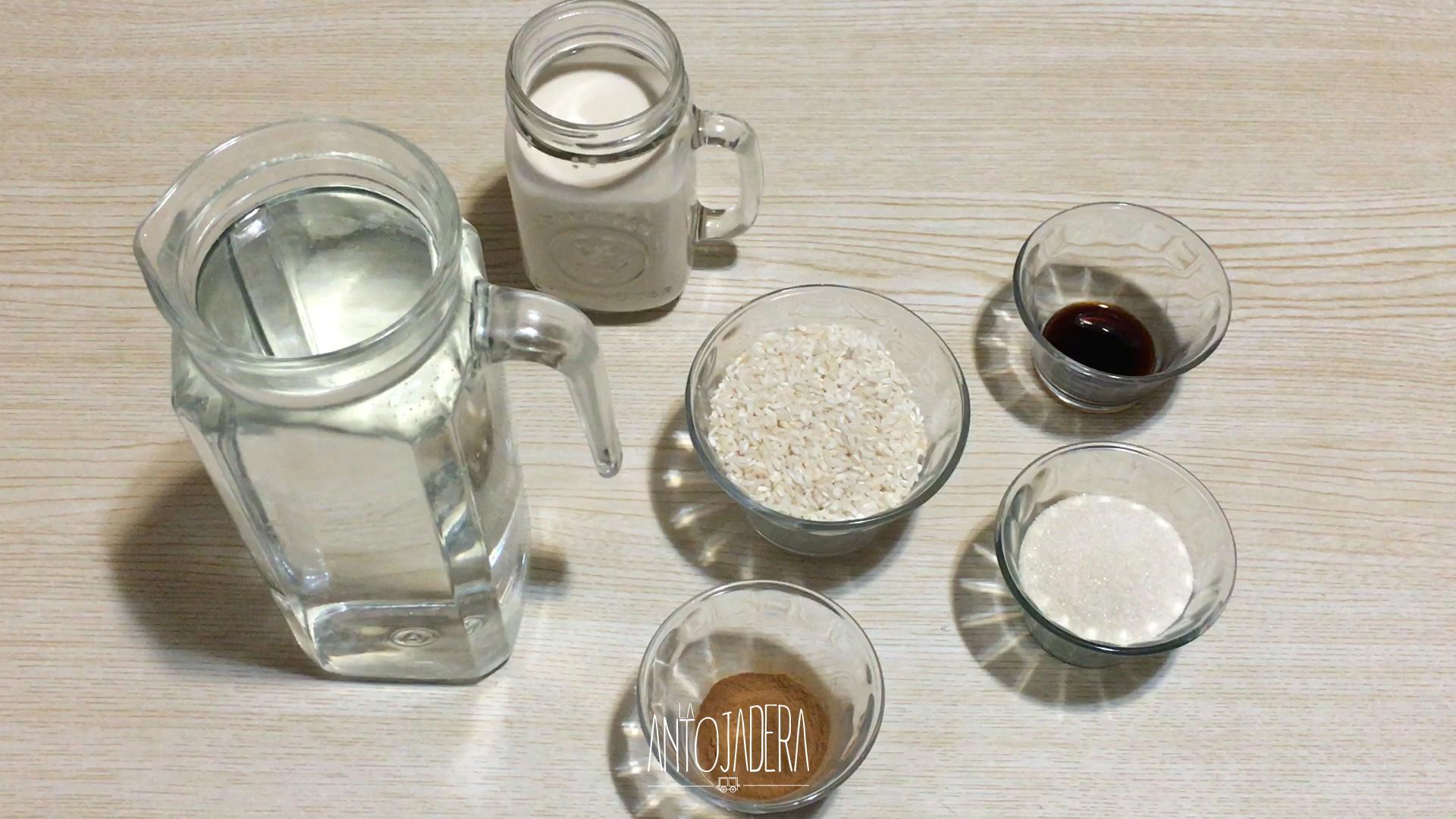 La Antojadera | Agua de Horchata con Arroz
