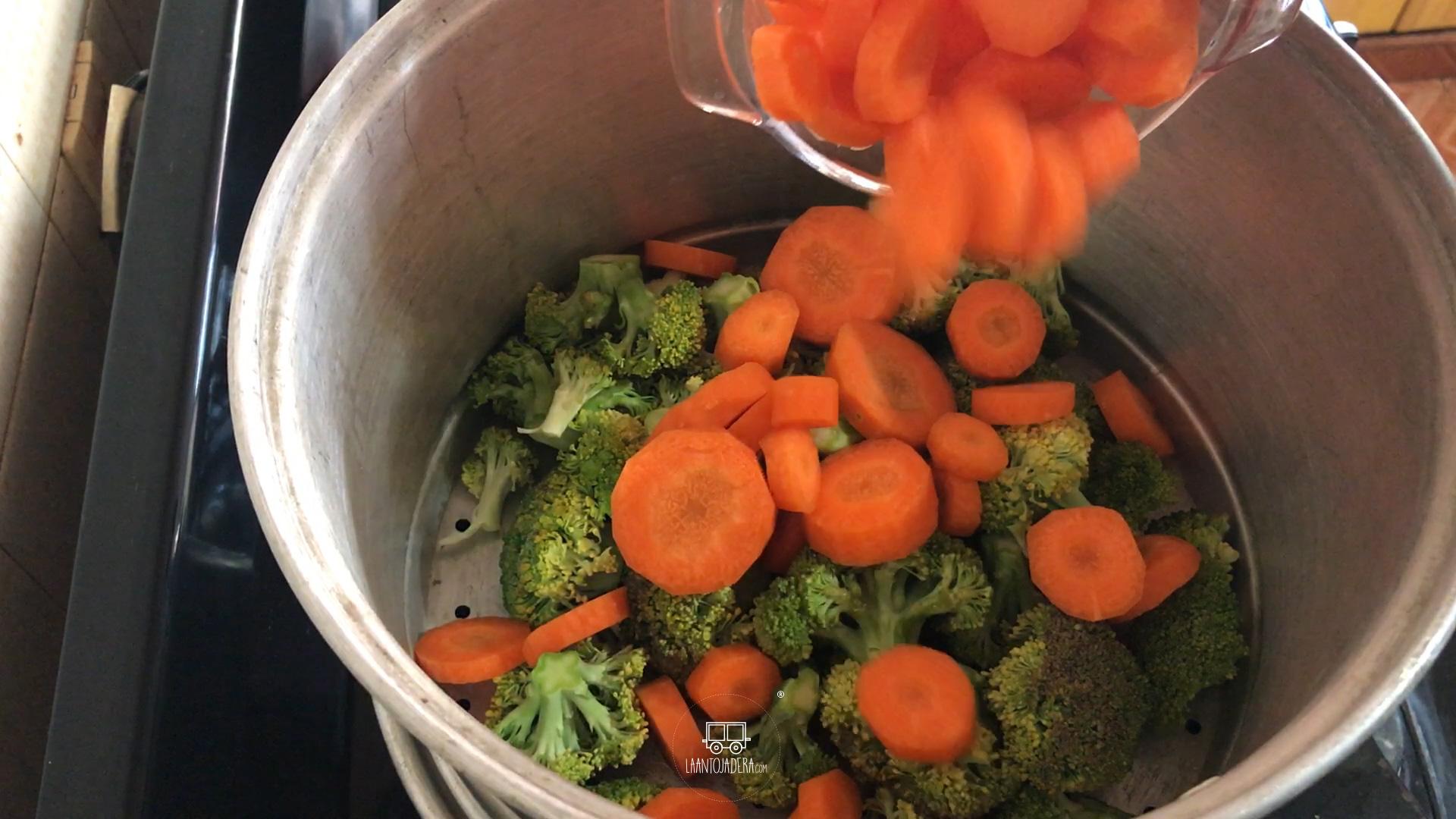 La Antojadera | Verduras al Vapor