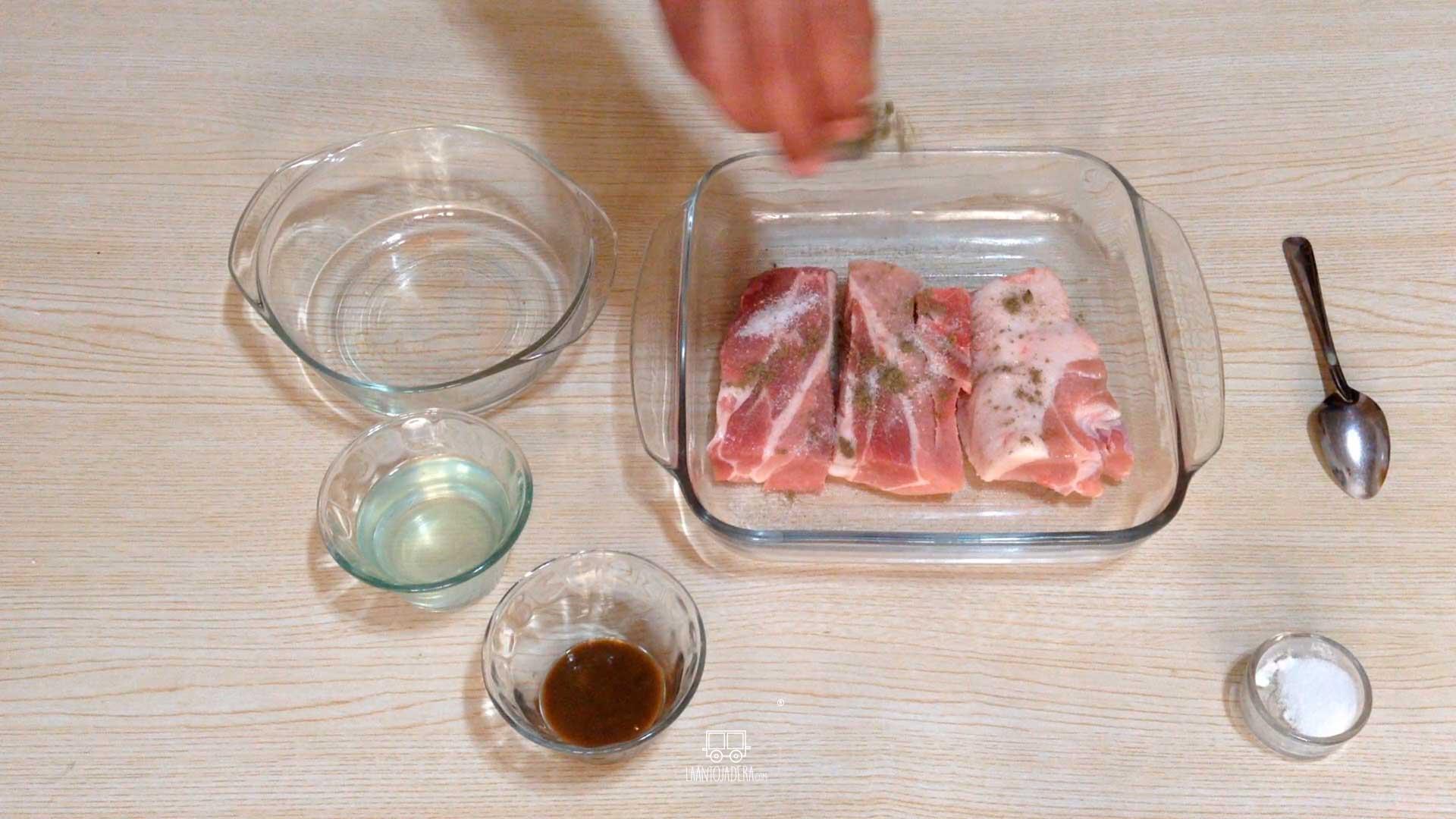 La Antojadera | Costillas en Salsa de Piña Picante
