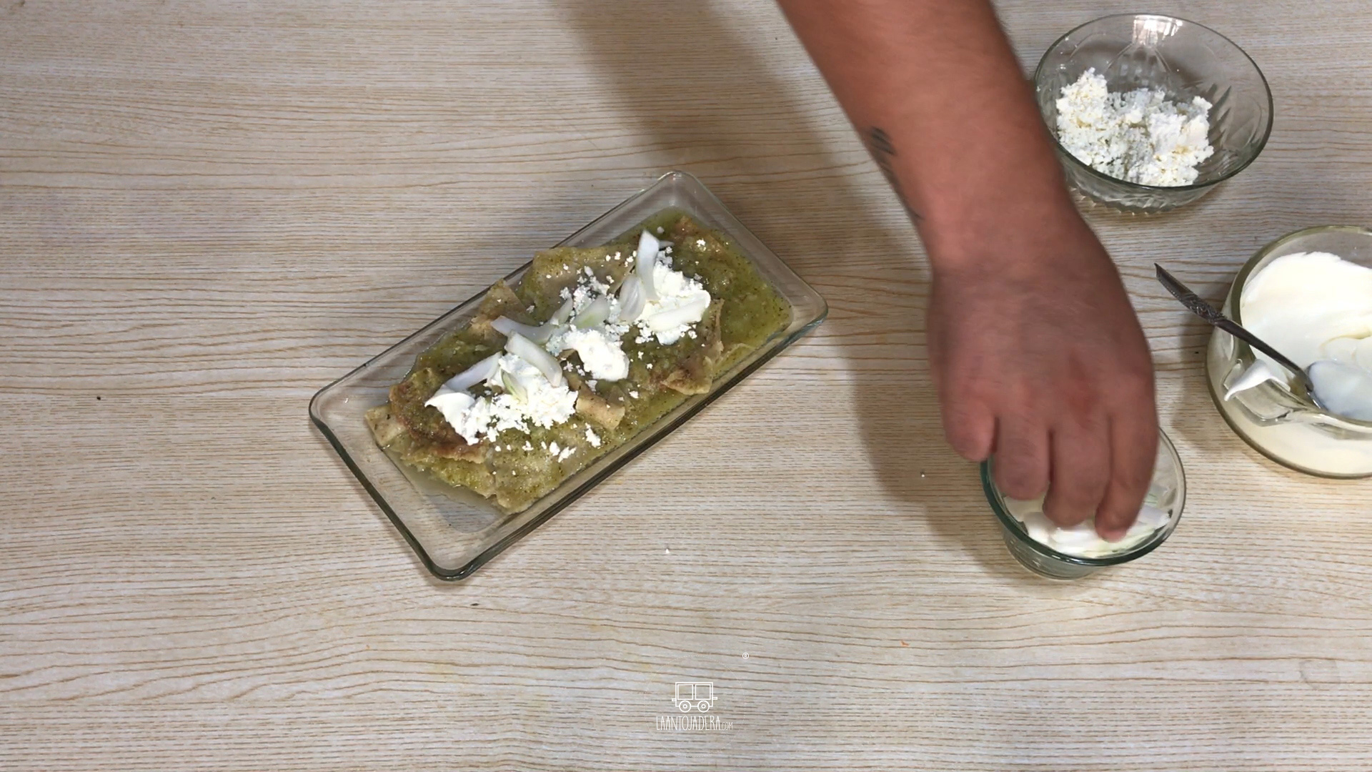 La Antojadera | Chilaquiles Verdes